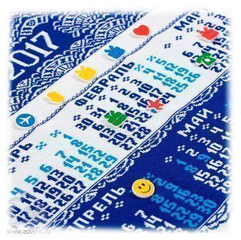 Календарь вязаный «Целый год в ажуре», общий вид