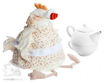 Грелка на чайник «Курица-наседка», применение