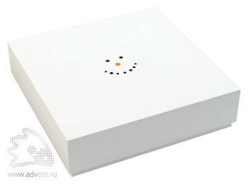 Набор тарелок «Снеговик», упаковка