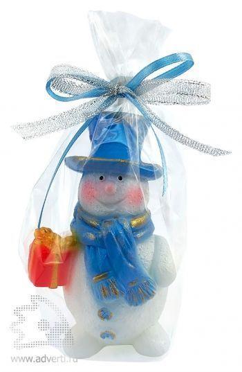 Свеча «Снеговик», упаковка