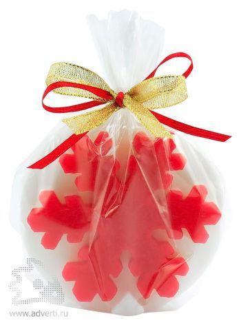 Свеча «Снежинка», упаковка