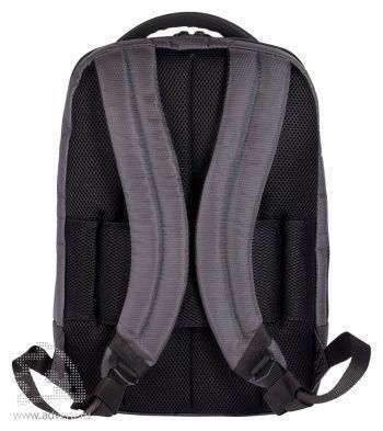 Рюкзак для ноутбука «Samsonite Qibyte Laptop Backpack», вид со спины
