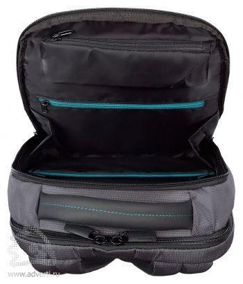 Рюкзак для ноутбука «Samsonite Qibyte Laptop Backpack», внутреннее отделение