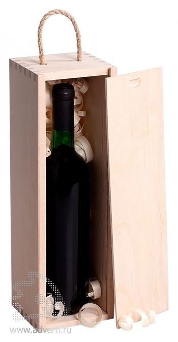 Пенал под бутылку, открытая