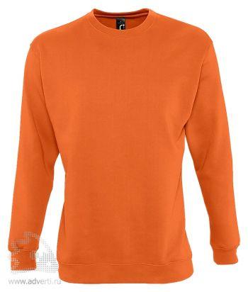 Толстовка «New Supreme 280», мужская, Sol's, Франция, оранжевая