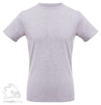 Футболка T-bolka «Stretch» мужская, серый меланж