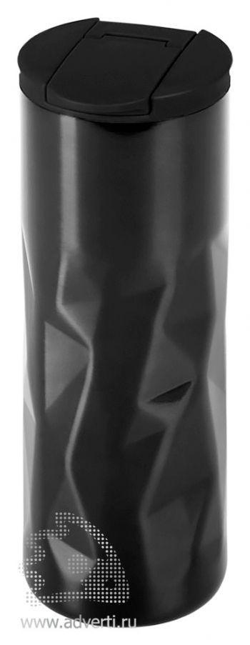 Термокружка «Gems», черная
