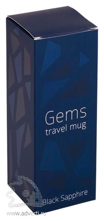 Термокружка «Gems Black Sapphire», упаковка
