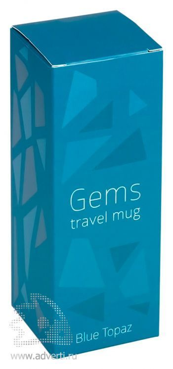 Термокружка «Gems Blue Topaz», упаковка
