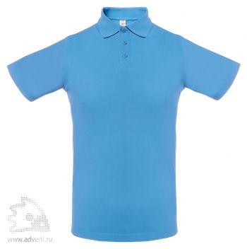 Рубашка поло мужская «Virma light», голубое