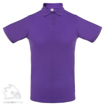 Рубашка поло мужская «Virma light», фиолетовое