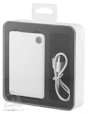 Универсальный внешний аккумулятор «Slim Flashlight Powerbank», 2600 mAh, упаковка
