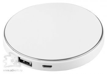 Универсальный внешний аккумулятор «Logo Power Disc»