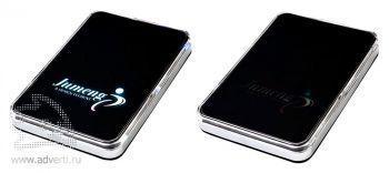 Универсальный внешний аккумулятор «Logo Power Ace», 3000 mAh, при зарядке логотип светится