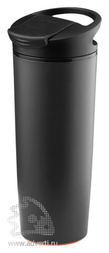 Термокружка «fixMug», черная