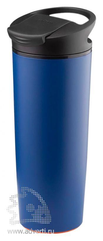 Термокружка «fixMug», синяя