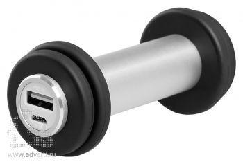 Универсальный аккумулятор «Dumbbell», 3000 mAh