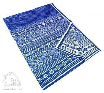 Плед «Скандик», светло-синий