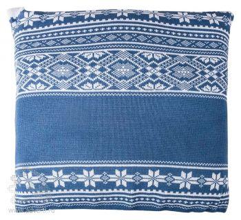 Подушка «Скандик», синяя
