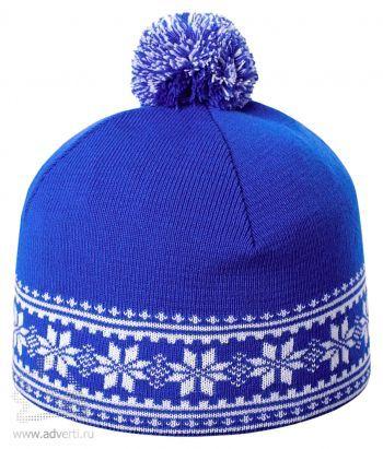 Шапка «Скандик», синяя