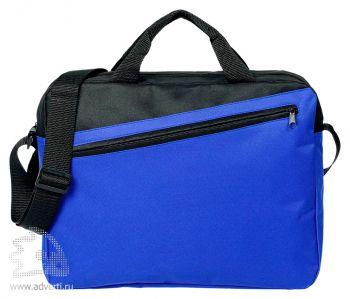 Конференц-сумка «Unit Diagonal», синяя