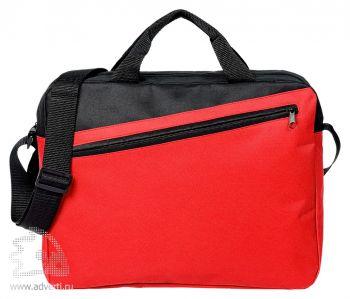 Конференц-сумка «Unit Diagonal», красная