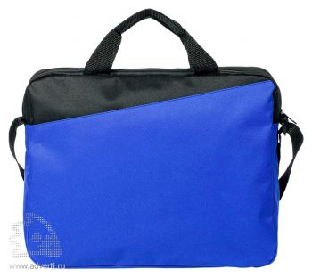 Конференц-сумка «Unit Diagonal», оборотная сторона
