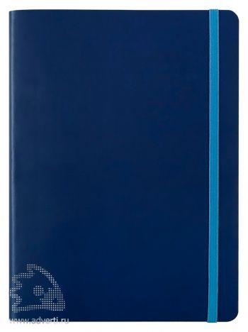 Блокнот «BiColor», синий