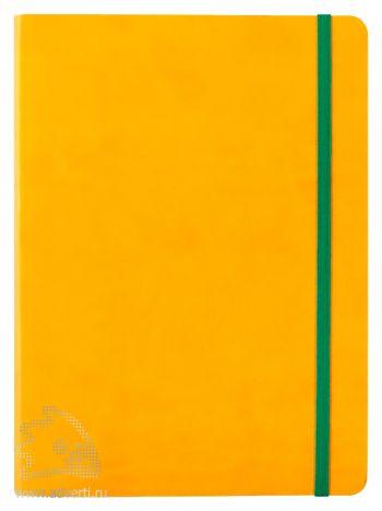 Блокнот «BiColor», желтый