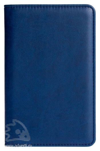Визитница «Brand», синяя