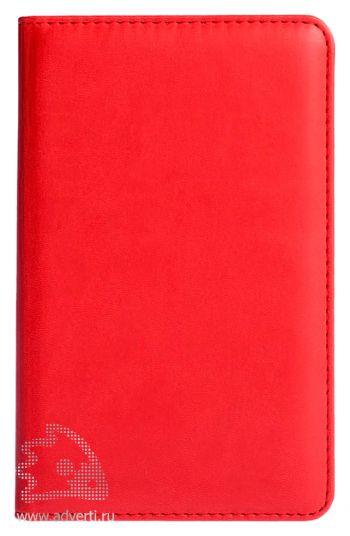 Визитница «Brand», красная