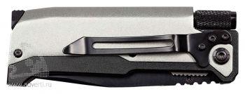 Нож складной «Ster» с фонариком и огнивом, в сложении