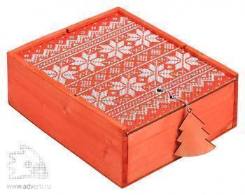Подарочный новогодний набор «Праздничный глинтвейн», упаковка