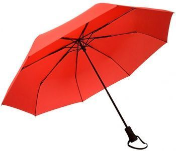 Зонт «Hogg Trek», механический, красный