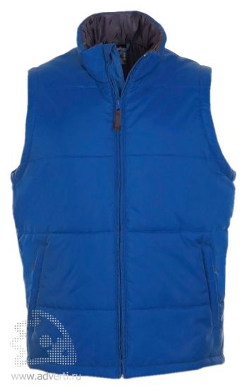 Жилет «Warm», мужской, ярко-синий