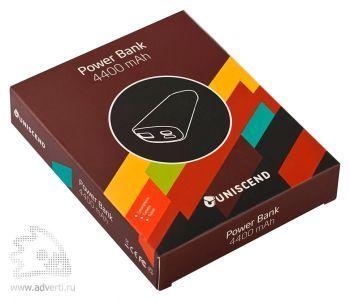 Универсальный внешний аккумулятор «Uniscend Soap» 4400 mAh, упаковка