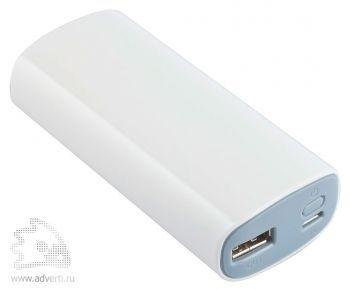 Универсальный внешний аккумулятор «Uniscend Soap» 4400 mAh, белый