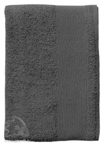 Полотенце махровое «Island Small», темно-серое