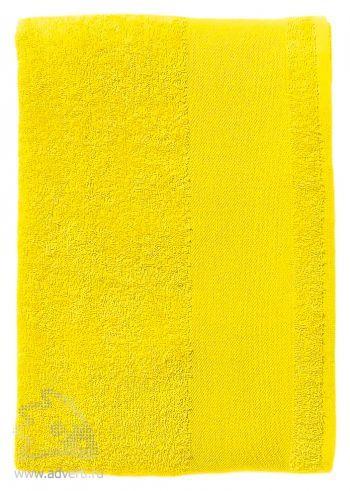 Полотенце махровое «Island Small», желтое