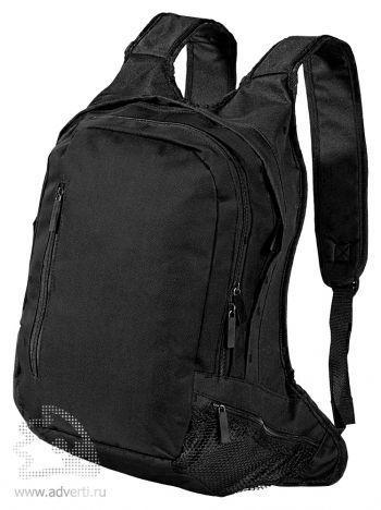 Рюкзак с отделением для ноутбука, черный