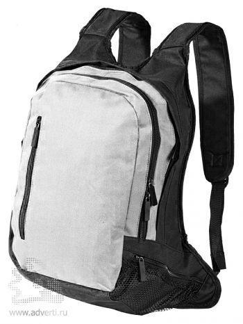 Рюкзак с отделением для ноутбука, серый