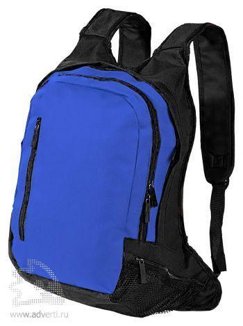 Рюкзак с отделением для ноутбука, синий