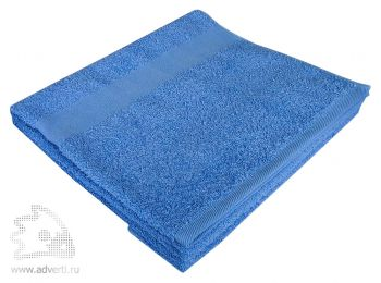 Полотенце махровое «Large», голубое