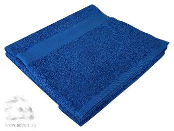 Полотенце махровое «Large», синее