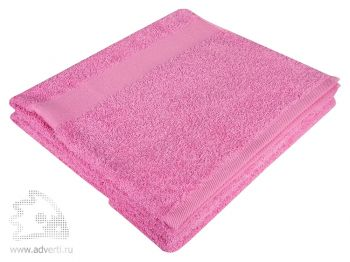 Полотенце махровое «Large», розовое