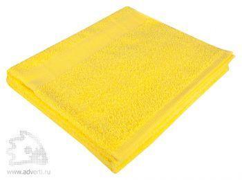 Полотенце махровое «Large», желтое