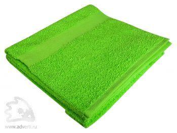 Полотенце махровое «Large», зеленое