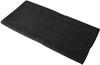 Полотенце махровое «Medium», черное