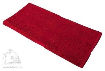 Полотенце махровое «Medium», бордовое