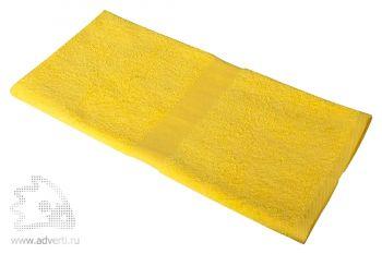 Полотенце махровое «Medium», желтое